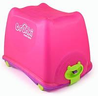 Ящик на колесах для игрушек Trunki ToyBox Pink, фото 1