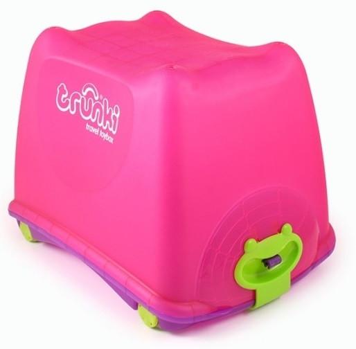 Ящик на колесах для игрушек Trunki ToyBox Pink