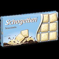 Молочно-белый шоколад Schogetten «Stracciatella» (с пломбиром) 100 г., фото 1