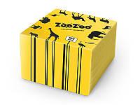 ZooZoо салфетки  100шт 24*23 желтые 1слой
