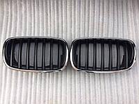 Ноздри решетка радиатора BMW X5 E70, фото 1