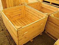 Контейнер деревянный для хранения и транспортировки яблок