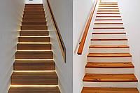 Лестницы деревянные из массива