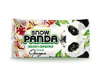 Снежная панда влажные салфетки для рук 15шт Орхидея