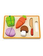 """Игрушка Viga Toys """"Овощи"""", деревянные овощи, деревянные пазлы вкладыши"""