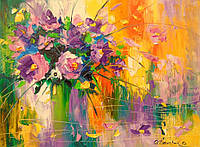 «Букет луговых цветов» картина маслом
