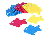 Рыбка голубая. Коврики для детей в ванную