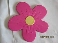 Цветок розовый Мини-коврики в ванную