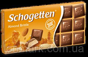 Молочный шоколад Schogetten  «Almond Brittle»  (с мигдальными крошками) 100 г