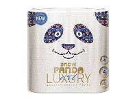 Снежная панда LUXURY туалетная бумага 4шт Арт