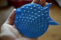 Рыбка ОРТО синяя. Мини-коврики в ванную
