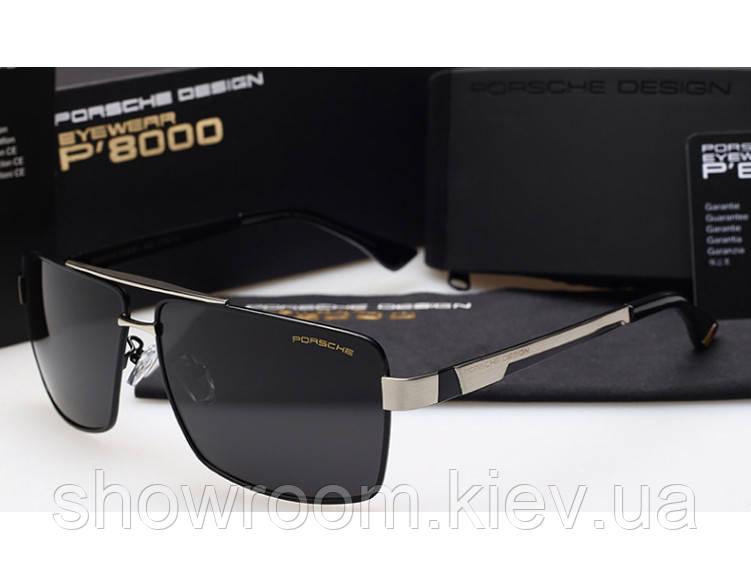 Солнцезащитные очки в стиле Porsche Design  (p-8712) black