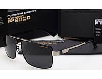 Солнцезащитные очки в стиле Porsche Design  (p-8712) black, фото 1