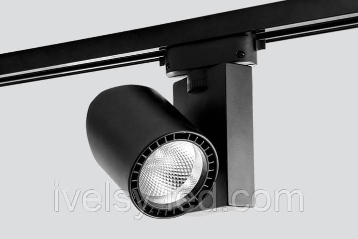 Прожектор на шинопроводе ELADA TRL73/18W  15°/24°/40°, 3000K/4000K/5000K