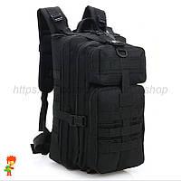 Тактический рюкзак 25 L Black