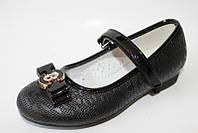 Детские туфли от производителя. Школьные туфли бренда Lilin Shoes для девочек (рр. с 27 по 32)