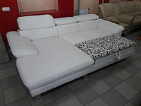 Новый диван раскладной кожаный угловой Германия