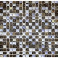 Мозаика Vivacer 305x305 DAF12, стекло-камень
