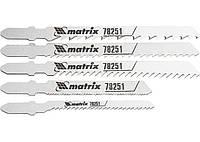 Набор полотен для электролобзика универсальный, 5шт. MATRIX Professional 782519