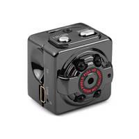 Миниатюрный FULL HD 1080P видеорегистратор, поддержка micro SD карт до 32Gb, время работы 100 ч (мод. SQ8)