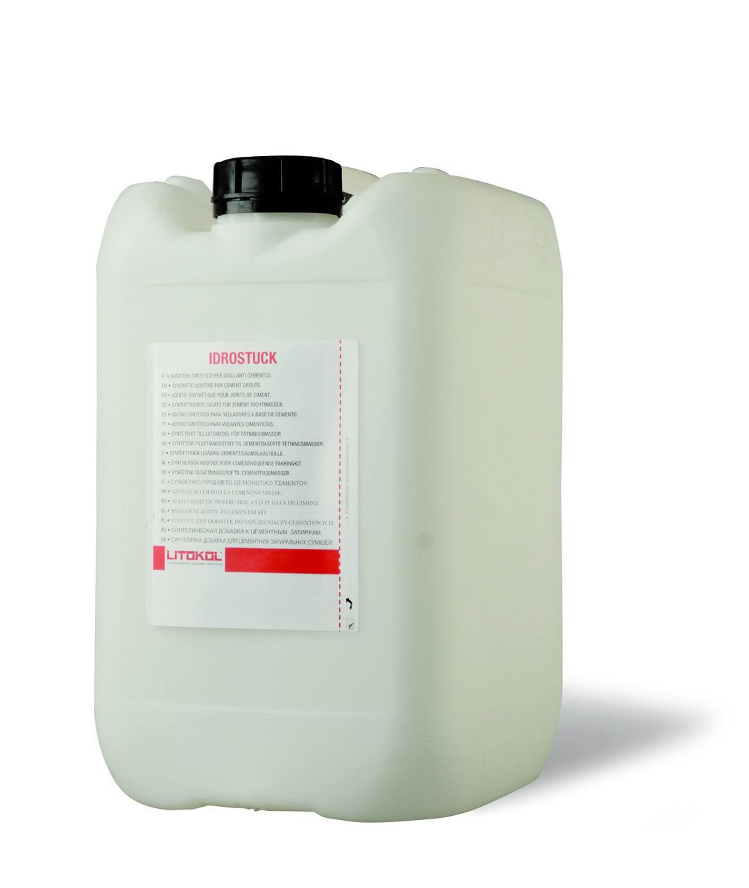 Добавка латексная Litokol Idrostuk(литокол идростук) 5кг для затирок цементных
