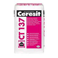 CT 137 Ceresit (СТ 137) барашек 2,5 мм камешковая штукатурка 25 кг