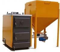 Твердотопливные котлы СЕТ с автоматиечской загрузкой топлива 150А