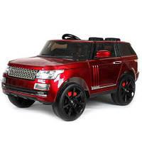 Детский электромобиль Джип Land Rover M 3153 EBRS-3 , автопокраска, красный***