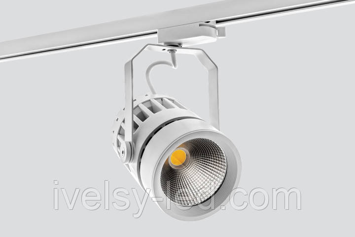 Прожектор на шинопроводі SHELF TRL95/40W 15°/24°/40°, 3000K/4000K/5000K
