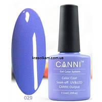 Гель-лак Canni 029 темно-лавандовый