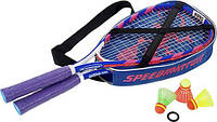 Набор для спидминтона Speedminton Set S600 Navy Red