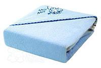 Уголок для купания - полотенце с капюшоном, плед- одеялко- TERJAN (100х100см)
