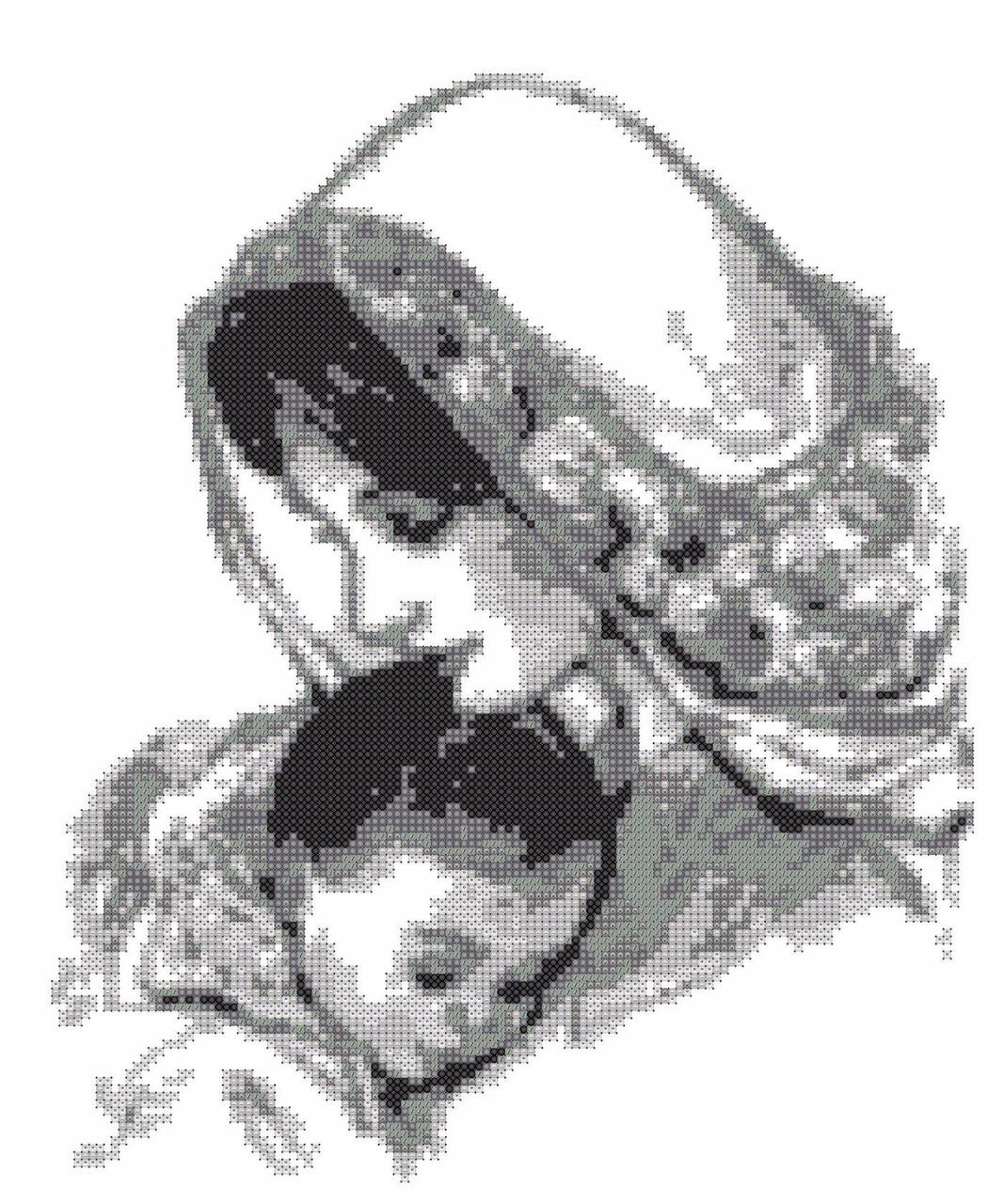 Все схемы мать и дитя по вышивке бесплатно