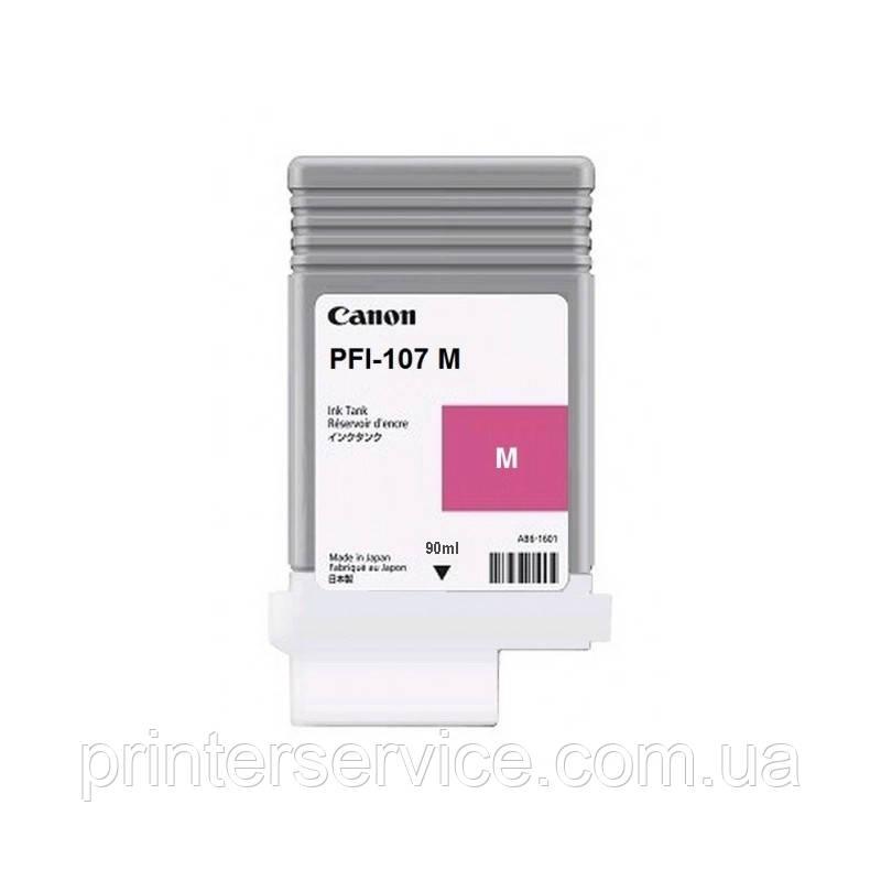 PFI-107 Magenta для iPF670/ 680/ 685/ 770/ 780/ 785, пурпурный, 90 мл (6707B002)
