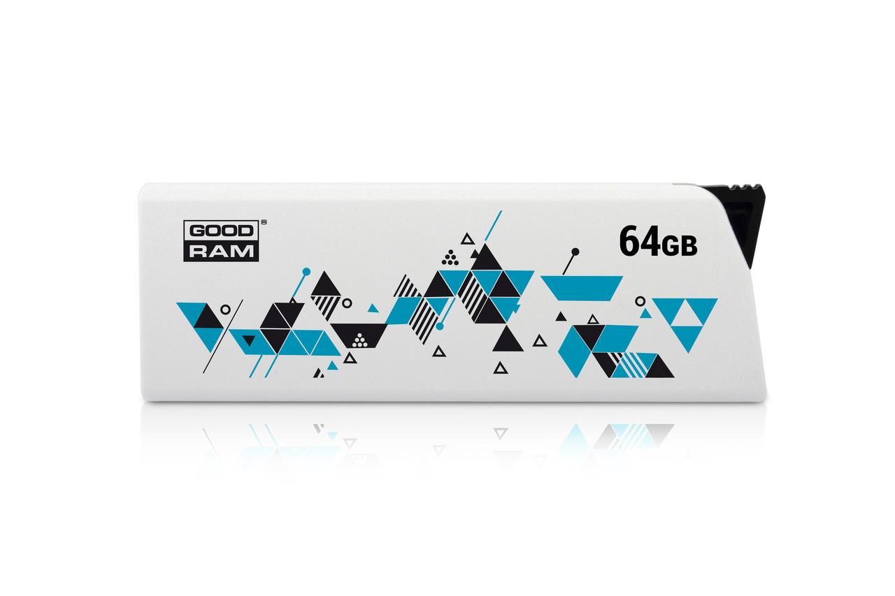 USB 64GB GOODRAM Cl!ck White (UCL2-0640W0R11)