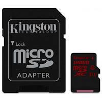 Карта памяти Kingston 128GB microSDXC class10 UHS-I U3 (SDCA3/128GB)