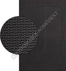 Полиуретан листовой Спорт (Украина), 95 Shore A, р. 400*300*6.2 мм, цв. черный