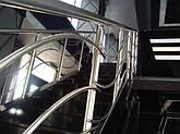 Перила алюминиевые фигурные, фото 2
