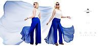 Стильные женские брюки-юбка