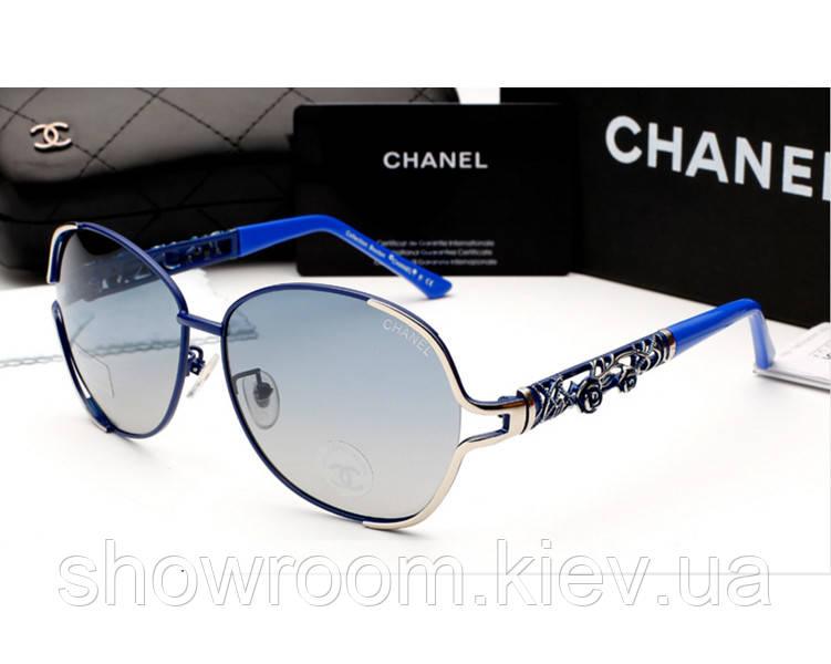 Женские солнцезащитные очки (6108) blue