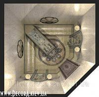 Визуализация интерьера турецкой бани