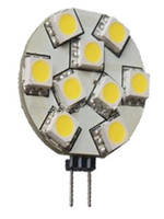 Лампа Lemanso св-ая G4 9LED 1,8W 60LM 4500K 12V 5050SMD/ LM220 круг