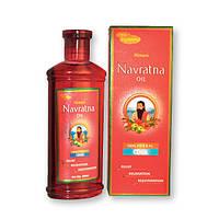 """Аюрведическое масло для массажа тела и кожи головы ТМ """"Navratna"""" , 100 мл."""