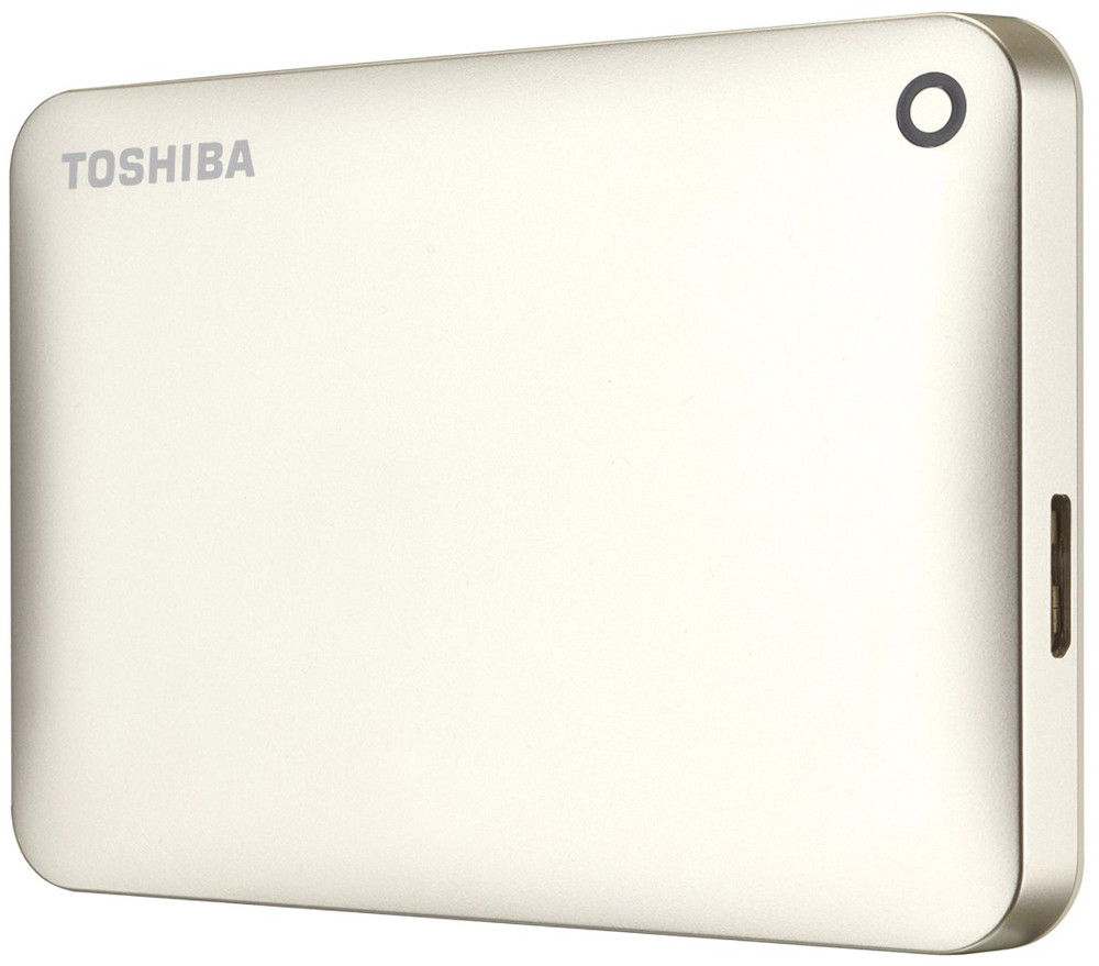 "Внешний жесткий диск HDD ext 2.5"" USB 2.0TB Toshiba Canvio Connect II Satin gold (HDTC820EC3CA)"