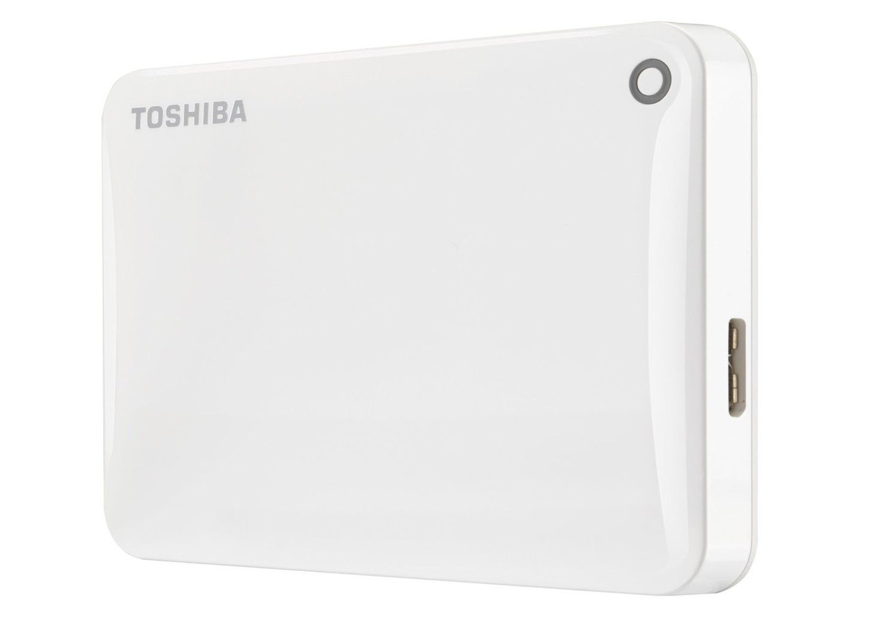 """Внешний жесткий диск HDD ext 2.5"""" USB  500Gb Toshiba Canvio Connect II White (HDTC805EW3AA)"""