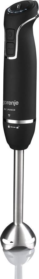 Блендер Gorenje HBX601QB (HB938) погружной 600 Вт / 12 скоростей / чаша 0.8 л / черный