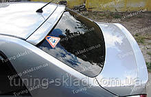 Спойлер на скло Nissan Tiida sedan (спойлер заднього скла Ніссан Тііда седан)