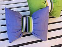 Подушка бант декор 35*25