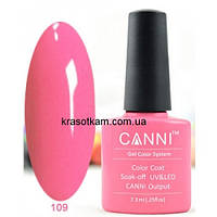 Гель-лак Canni 109 классический розовый