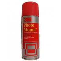 Клей 3М PhotoMount 9479 (Фотомаунт) бесцветный для монтажа фотографий, иллюстраций или гравюр, 400 мл